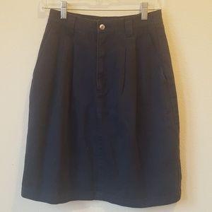 EDDIE BAUER High Waisted Skirt